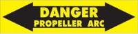 Propeller Arc Danger