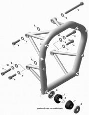 Engine Suspension Frame Parts