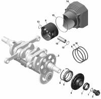Crankshaft and Parts