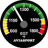 rotax 582 egt reading issue